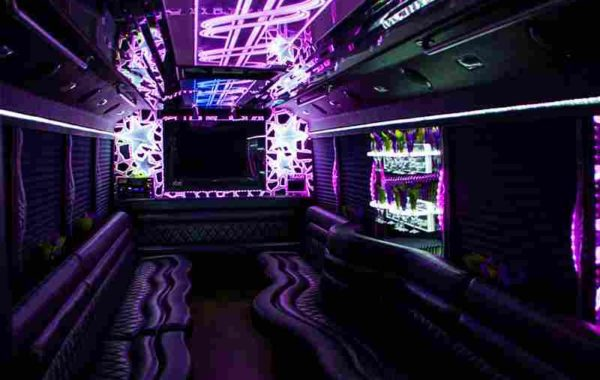 Limo Luxury Party Bus for 30