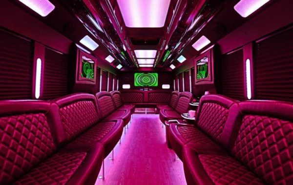 Limo Party Bus Black for 40