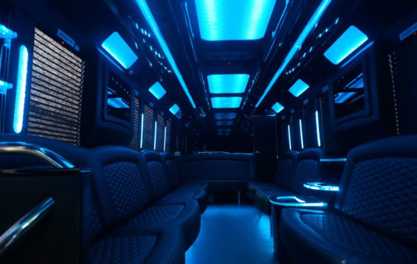 Limo Party Bus for 26 THE TIFFANY
