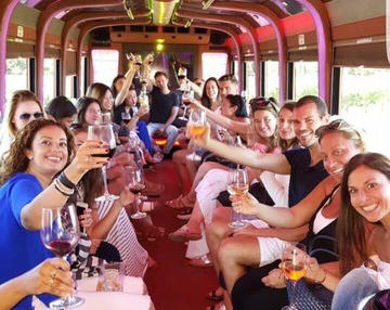 40 Pass Party Bus Trolly Type 3