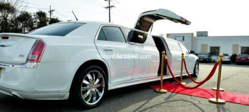 Chrysler 300 Stretch Jet Door Limousine for 12 3