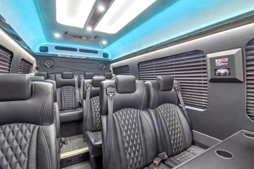 Mercedes Sprinter Corporate Van for 14