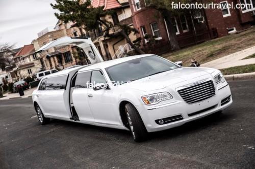 Chrysler 300 Stretch Jet Door Limousine for 12 2