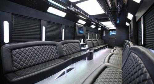 Limo Party Bus Black for 40 2