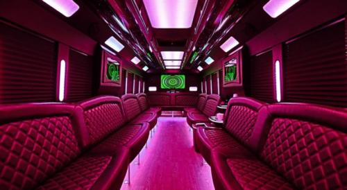 Limo Party Bus Black for 40 3