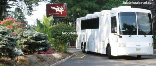 Limo Party Bus White for 50