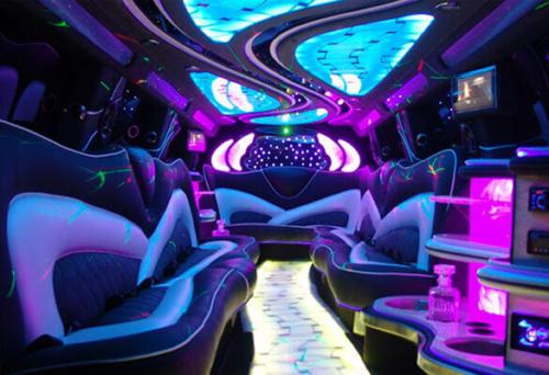 20 Passenger White Hummer H2 Stretch Limousine 3