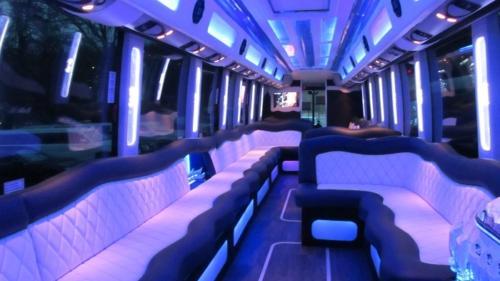 Mercedes Setra 60 Passenger Party Bus 2