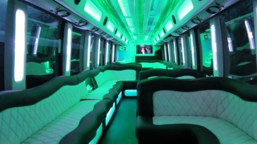 Mercedes Setra 60 Passenger Party Bus 3