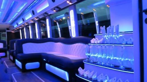 Mercedes Setra 60 Passenger Party Bus 4