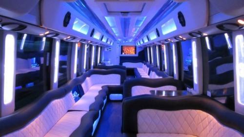 Mercedes Setra 60 Passenger Party Bus 6