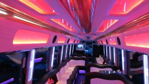 Mercedes Setra 60 Passenger Party Bus 7