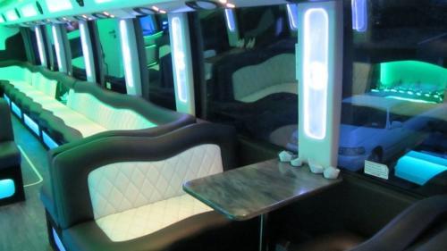 Mercedes Setra 60 Passenger Party Bus 8