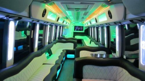 Mercedes Setra 60 Passenger Party Bus 9