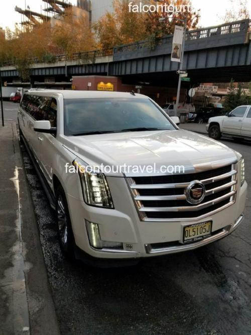 Vehicle 2. 20 Passenger Cadillac Escalade with Jet Door 1