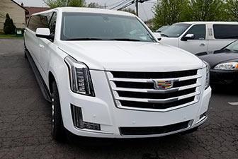 White Cadillac Escalade Super Stretch Limousine 18-20 1