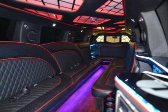 White Cadillac Escalade Super Stretch Limousine 18-20 2