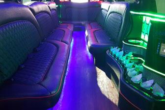 White Cadillac Escalade Super Stretch Limousine 18-20 3